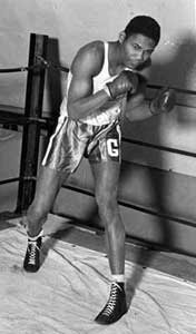 Carl Maxey, as a young boxer at Gonzaga University